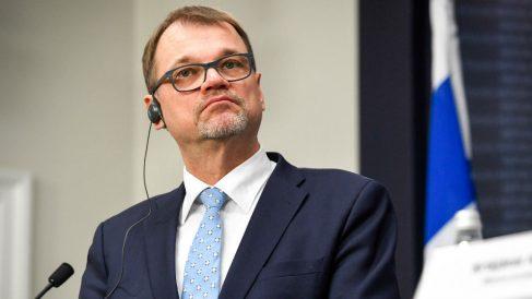 Primer ministro de Finlandia. Foto: AFP