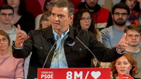 Pedro Sánchez, presidente del Gobierno y secretario general del PSOE.