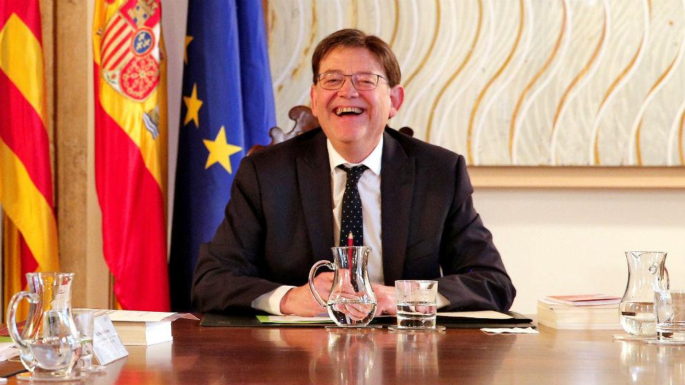 Ximo Puig, presidente de la Generalitat Valenciana. (Efe)