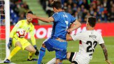 Jaime Mata frente al Huesca (EFE)