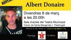 El Mosso Albert Donaire ha ofrecido este fin de semana una conferencia organizada por el CDR de Palafrugell.