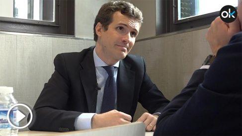 """Pablo Casado y Eduardo Inda en el Restaurante """"Koxka"""""""