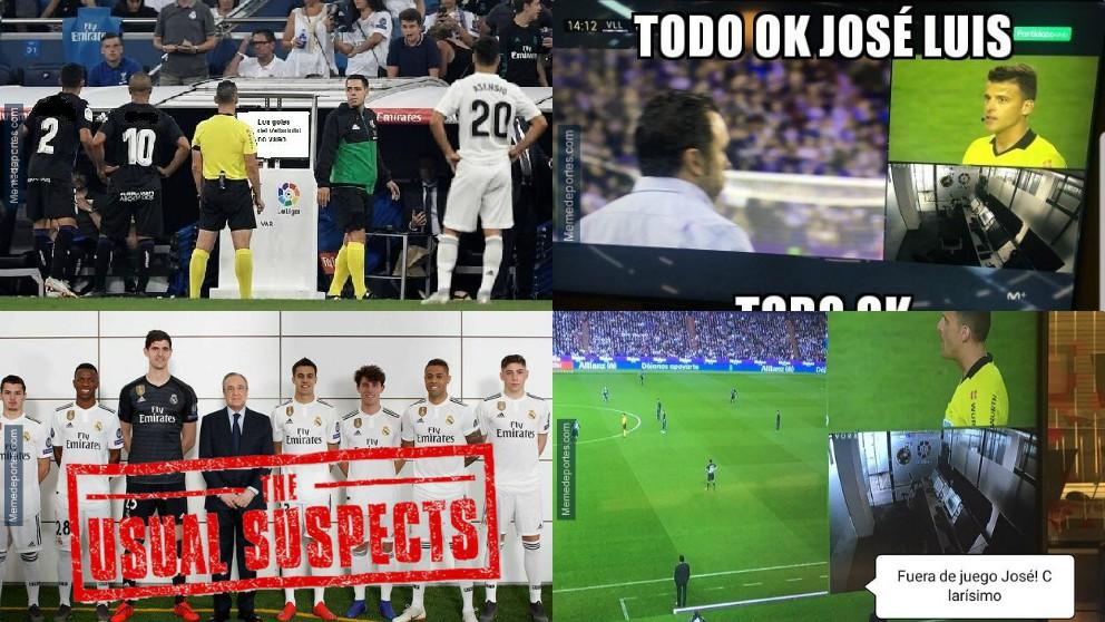 Los mejores memes del Valladolid – Real Madrid.