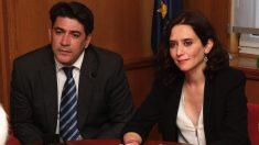 David Pérez e Isabel Díaz Ayuso. (Foto. PP)