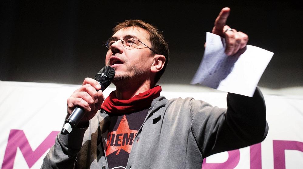 El cofundador de Podemos y director del Instituto 25M, Juan Carlos Monedero (Foto: Podemos)