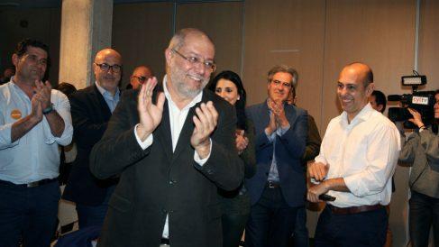 Francisco Igea, nuevo candidato de Ciudadanos a la Presidencia de la Castilla y León. (Foto: EFE)
