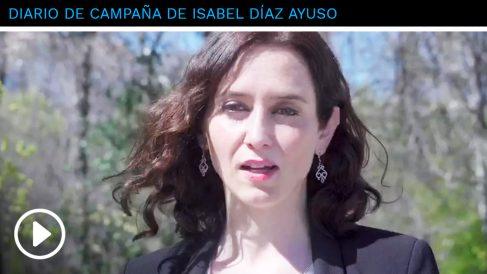"""La candidata Ayuso: """"El atentado del 11M fue el motivo por el que me afilié al PP"""""""