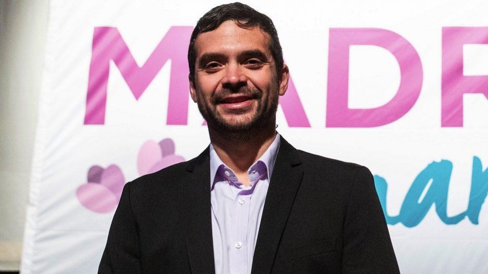 Jesús Santos, líder de Podemos en Móstoles. (Foto. Podemos)