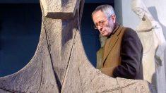 Josep María Subirachs en una foto del archivo de la Sagrada Familia de Barcelona.