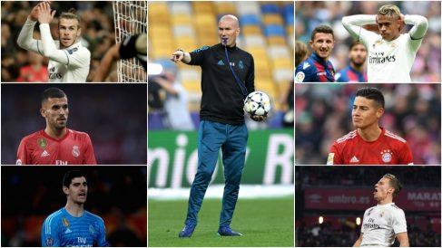 Los perjudicados por el regreso de Zidane.