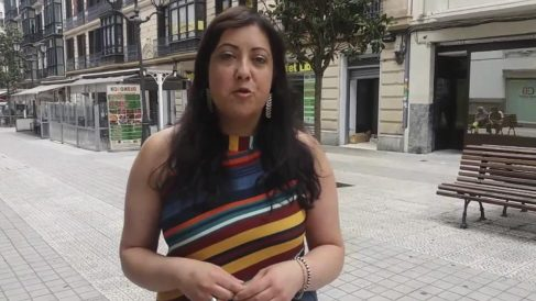 Asun Merinero, apoderada de Podemos en Vizcaya.