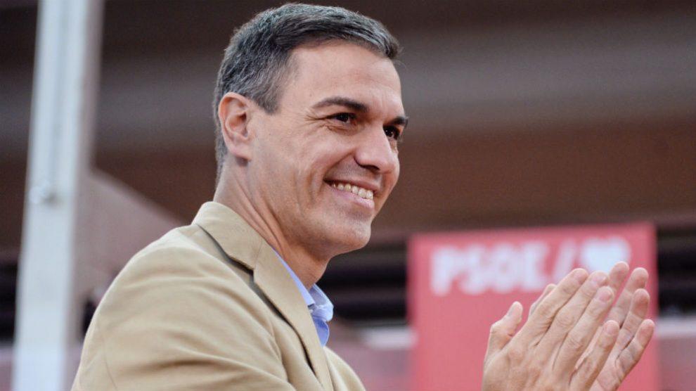 El presidente del Gobierno y secretario general del PSOE, Pedro Sánchez. (Foto: EFE)