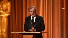 El reputado director de cine Steven Spielberg en un acto de la Academia de Hollywood, que entrega los premios Oscar cada año. Foto: AFP