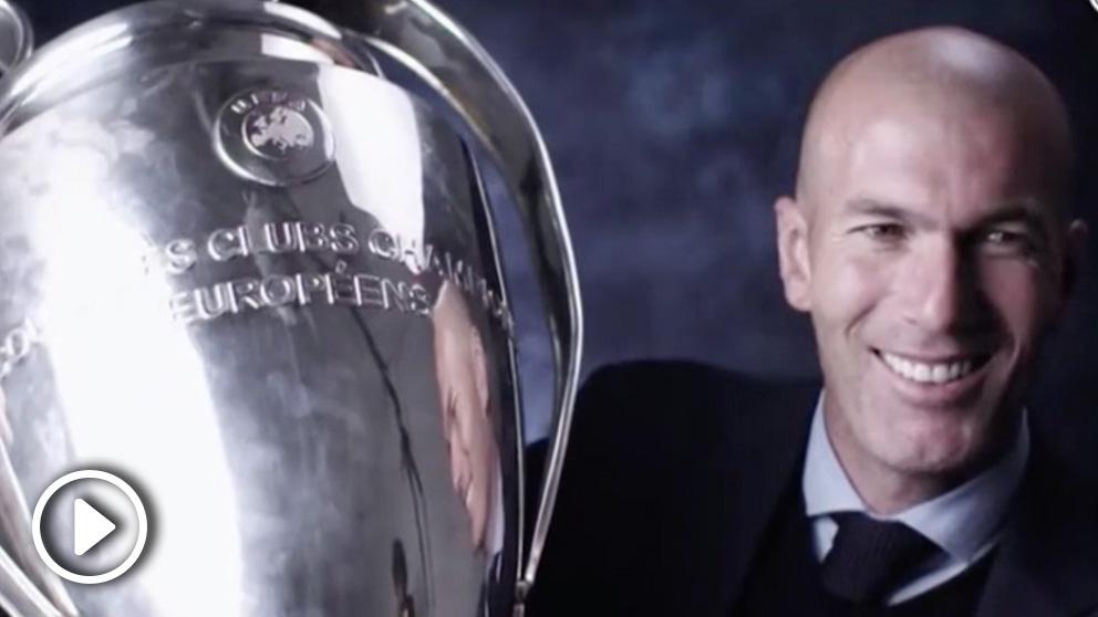 El emotivo vídeo para dar la bienvenida a Zidane de vuelta al Real Madrid