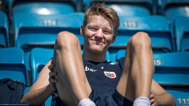 El Ajax quiere a Odegaard