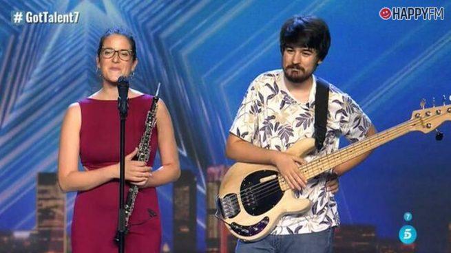 'Got Talent': Edurne y Paz Padilla unen fuerzas para dar un emotivo pase de oro