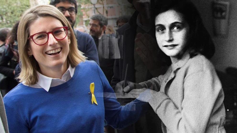 Elsa Artadi y Ana Frank