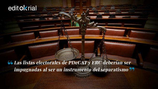 La Fiscalía debe impugnar las listas electorales separatistas