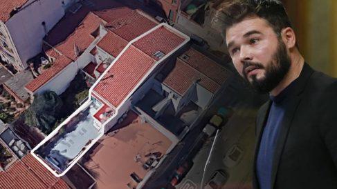 El diputado de ERC Gabriel Rufián se compró en octubre una nueva casa en Sabadell. (Fuente: Google Maps/OKDIARIO)