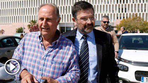 Antonio Sánchez llega a la Ciudad de la Justicia para declarar como testigo en el caso del pequeño Julen.