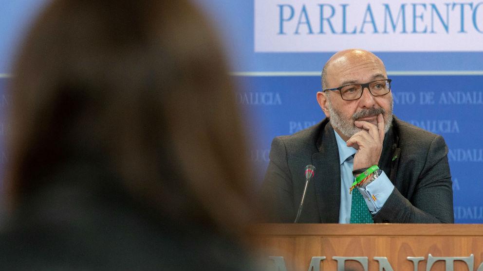 Alejandro Hernández, portavoz de VOX en Andalucía. (EFE)