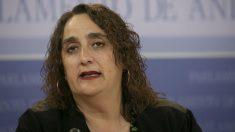 Ángela Aguilera sustituirá a Teresa Rodríguez en Adelante Andalucía mientras esté de baja por maternindad. Foto: Europa Press