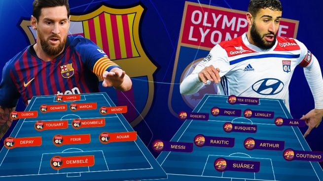 Venta de descuento 2019 reloj venta en línea Barcelona - Olympique de Lyon: Messi, para evitar otro ...