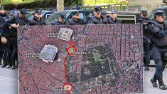 La Policía prepara un refuerzo de 250 efectivos para la manifestación independentista en Madrid