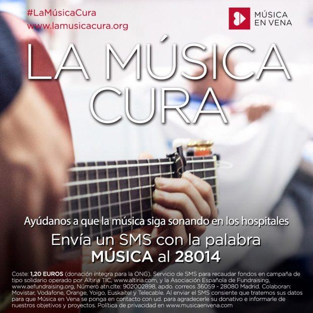 José Mercé y Tomatito tocando para los pacientes y personal del Hospital 12 de Octubre
