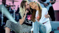 Miley Cyrus publica su espectacular versión de '7 Rings' de su amiga Ariana Grande