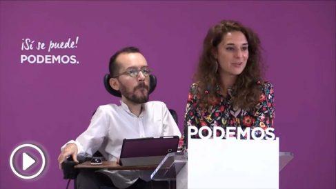"""Noelia Vera asegura que Pablo Iglesias """"está cuidando a sus hijos y a sus hijas en las prácticas feministas"""""""