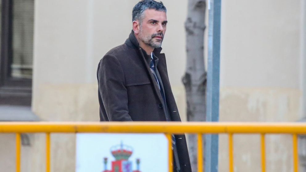 Santi Villa llegando al Tribunal Supremo donde se celebra el juicio al procés por el referéndum ilegal del 1-O. Foto: Europa Press