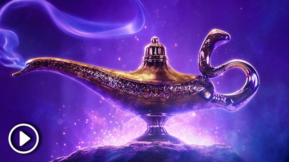 Nuevo trailer Aladdin, el clásico de Disney en acción real.