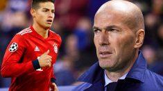 Zidane no quiere a James en la gira.