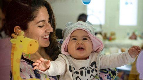 Aprendiendo a ser madres (Foto: ALMA)