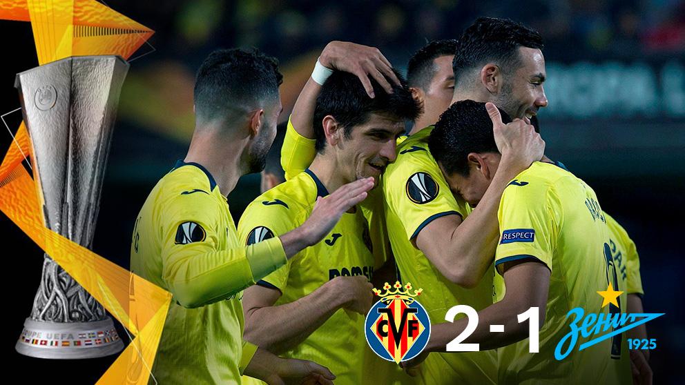 El Villarreal gana al Zenit y se clasifica para los cuartos de final de la Europa League. (EFE)