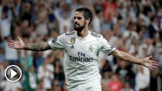 Isco celebra un gol con el Real Madrid. (Getty)