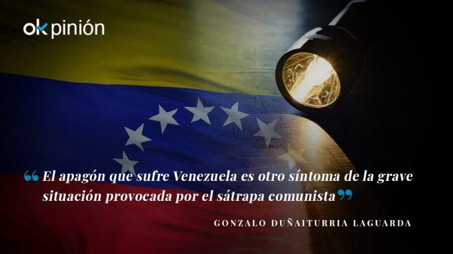 Venezuela se apaga y la izquierda sigue a oscuras