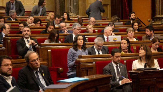 Arrimadas no se moja con el tercer grado de Oriol Pujol: «Respetamos las decisiones judiciales»