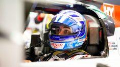 Fernando Alonso en uno de los entrenamientos de las 1.000 millas de Sebring.