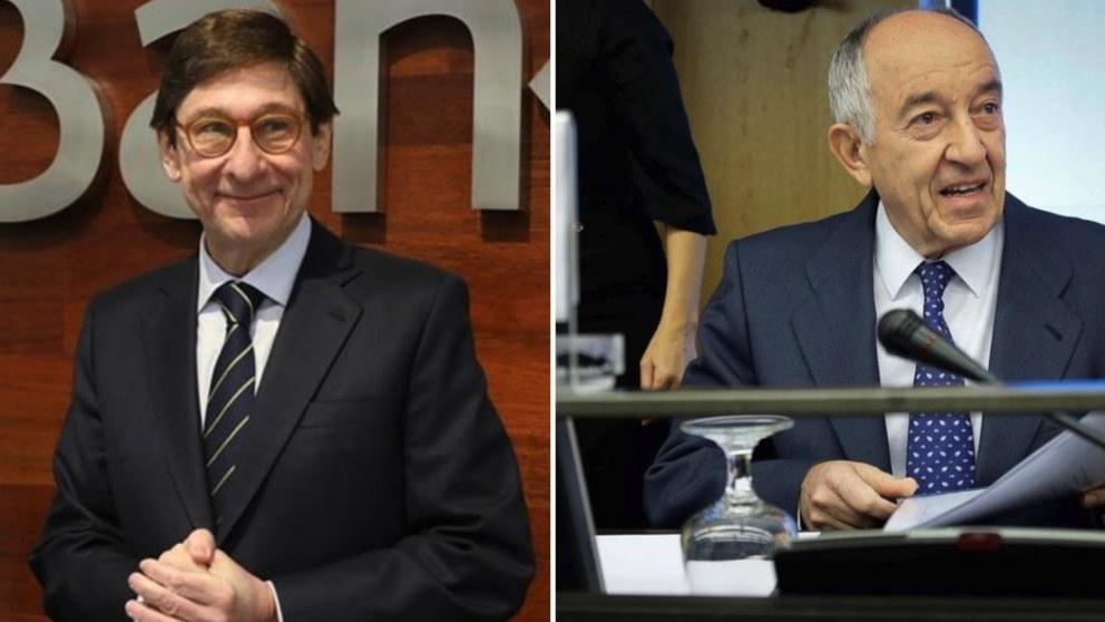 José Ignacio Goirigolzarri y Francisco Fernández Ordónez.