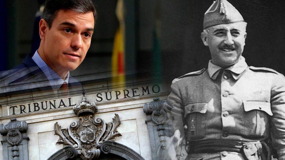 El Tribunal Supremo tiene la última palabra sobre la exhumación de Franco