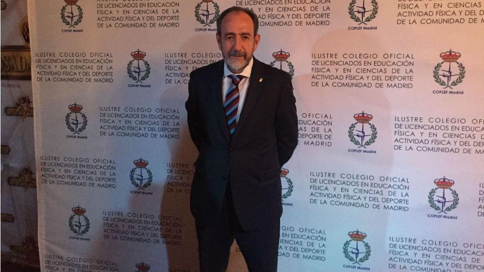 Paco Díez, presidente de la FFM.