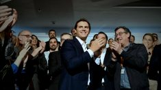 Albert Rivera en la presentación de los candidatos de Cs al Congreso de los Diputados