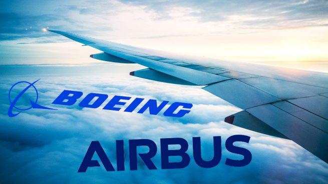 Boeing se juega 600.000 millones mientras Airbus se revaloriza más de un 6%