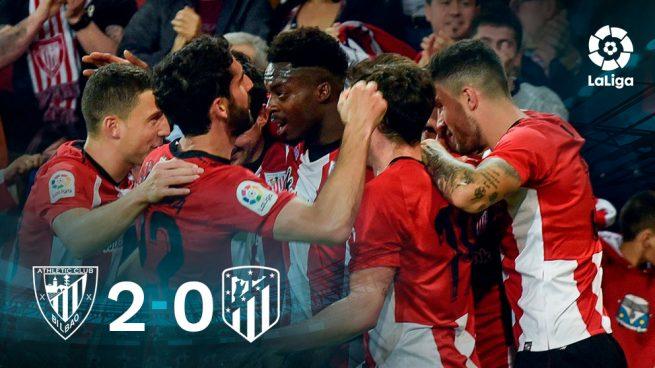 El Atlético está para los leones
