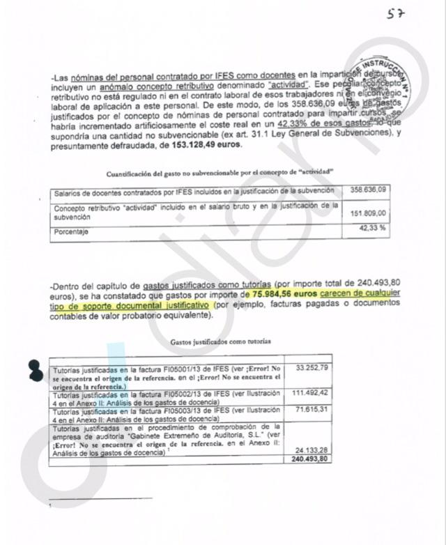 UGT infló los costes de las tutorías porque no llenaba las clases de los cursos de formación