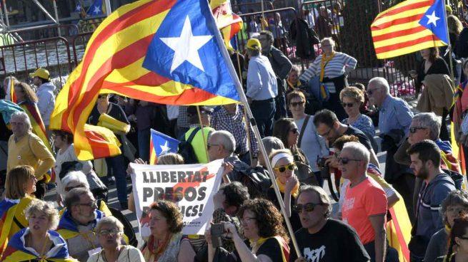 Manifestación independentista