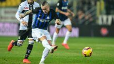 Nainggolan con el Inter de Milán (AFP)