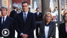 Pedro Sánchez y Manuela Carmena. (Foto. Madrid)